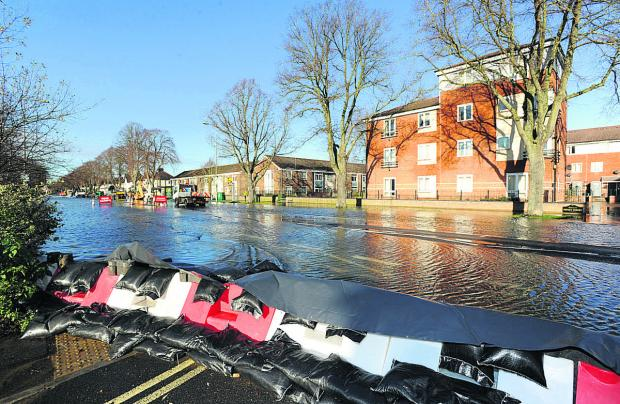 Floods on Botley Road e