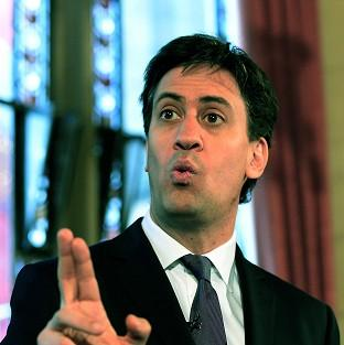 Witney Gazette: Ed Miliband has vowed to shake up high street banking