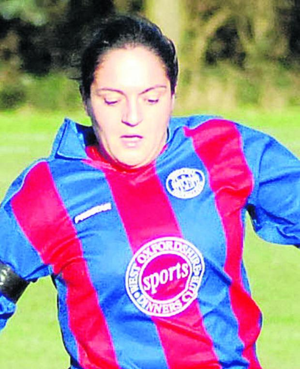 Witney Gazette: Samantha Bevan-Talbot's double was in vain as they lost to Mansfield Road in the Women's County Cup