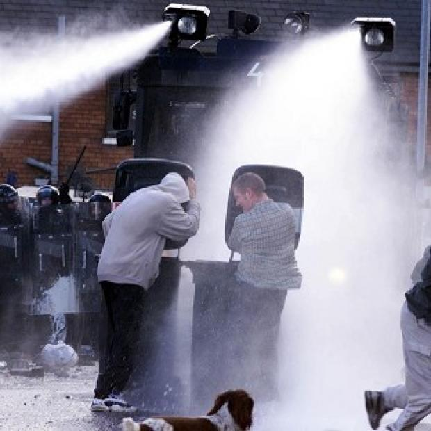 Witney Gazette: A briefing paper warns that water cannon is likely to be needed by police due to protests triggered by ongoing austerity measures