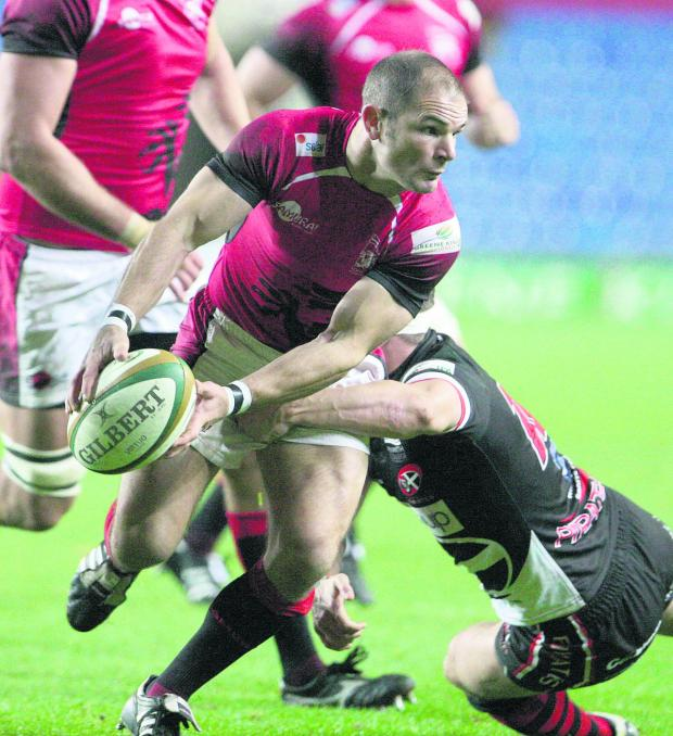 Witney Gazette: London Welsh fly half Gordon Ross returns when they take on his former club Leeds at the Kassam Stadium tomorrow