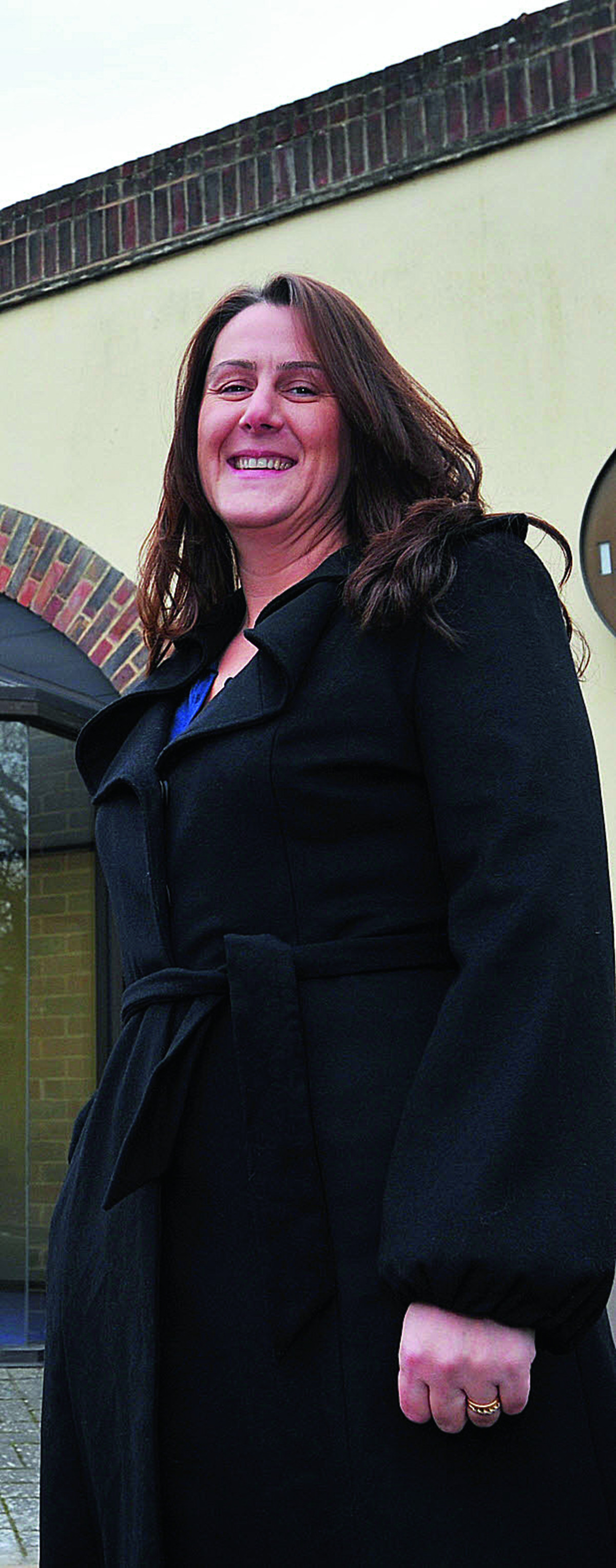 Claire Swan, facilities manager at Witney Town Council