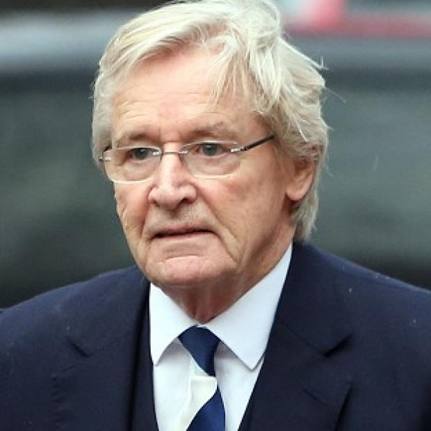 Witney Gazette: Coronation Street actor William Roache arrives at Preston Crown Court