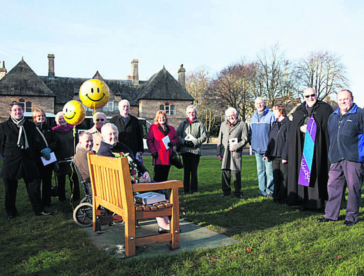 Bench provides permanent reminder of Early's pensions campaigner