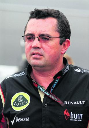 Eric Boullier has joined McLaren after resigning from the Enstone-based Lotus team