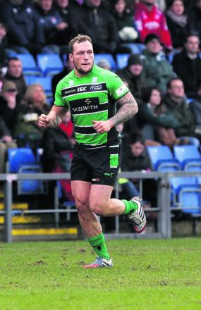 RUGBY UNION: Griffin has mixed day on return