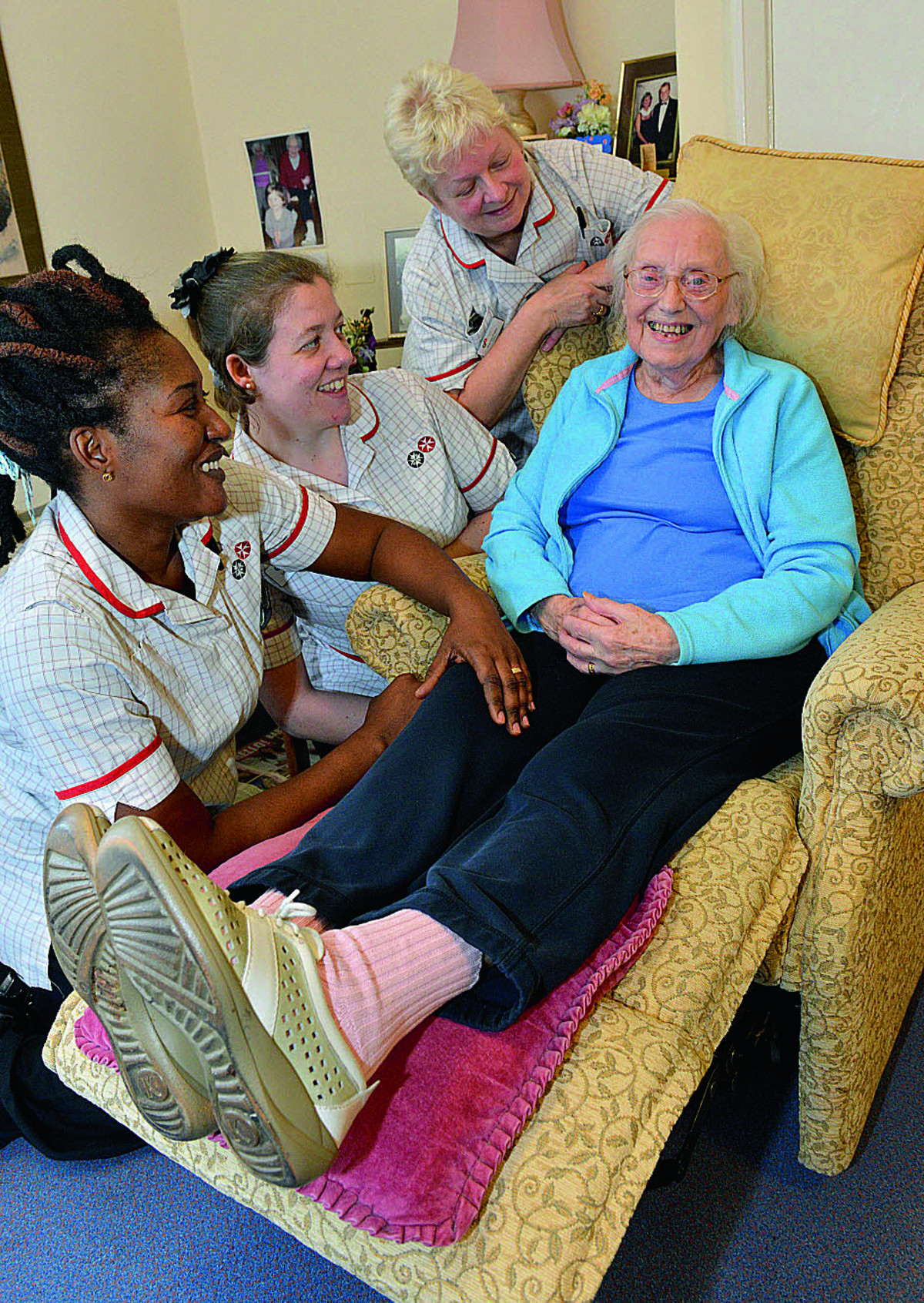 Care homes unite to support Dignity Action Day