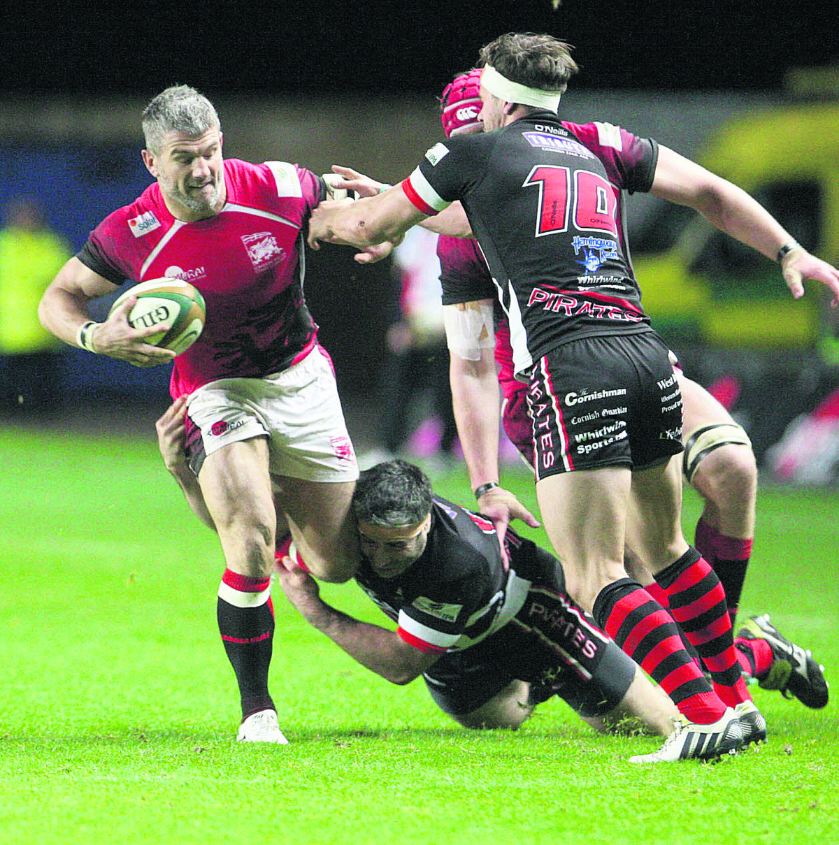 Tom May has recovered from injury has leads London Welsh a