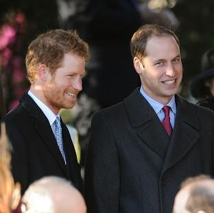 Prince Harry and the Duke of