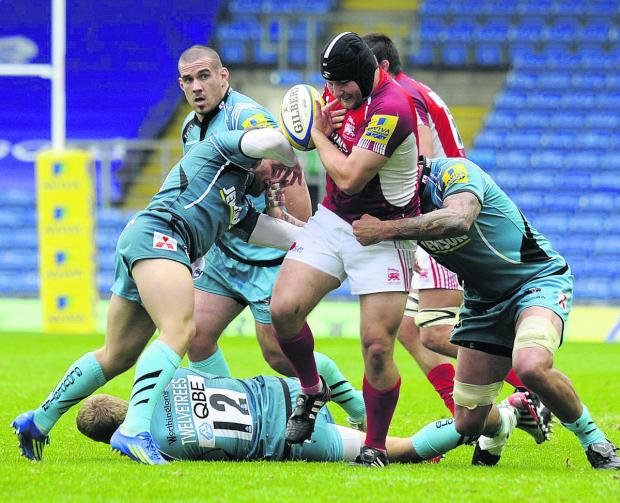 Witney Gazette: Tom Bristow starts at loosehead prop for London Welsh tomorrow after returning to the club on loan from Leicester