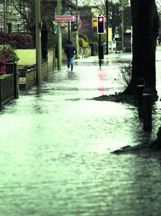 Flooding on Abingdon Road earlier this week    Pictures: Damian Halliwell an