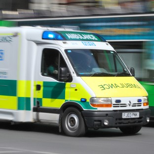 A Gwent Police spokesman said the woman was taken to Nevill Hall Hospital in a critical condition but
