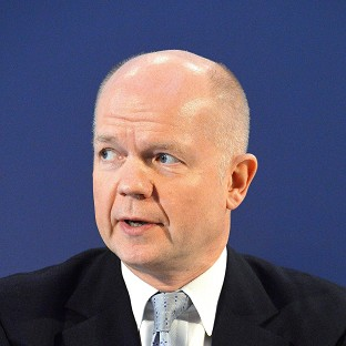Foreign Secretary William Hague says the Syria peace talks have suffered a