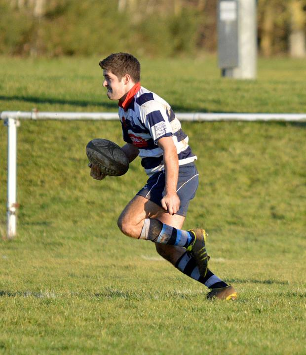 Witney Gazette: Josh Deegan went over for two tries as Banbury reached the semi-finals of the Oxfordshire Cup