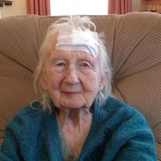 Witney Gazette: Connie Hallford, who was badly beaten when three masked men burst into her home (Suffolk Constabulary/PA)