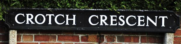 Witney Gazette: Crotch Crescent in Marston