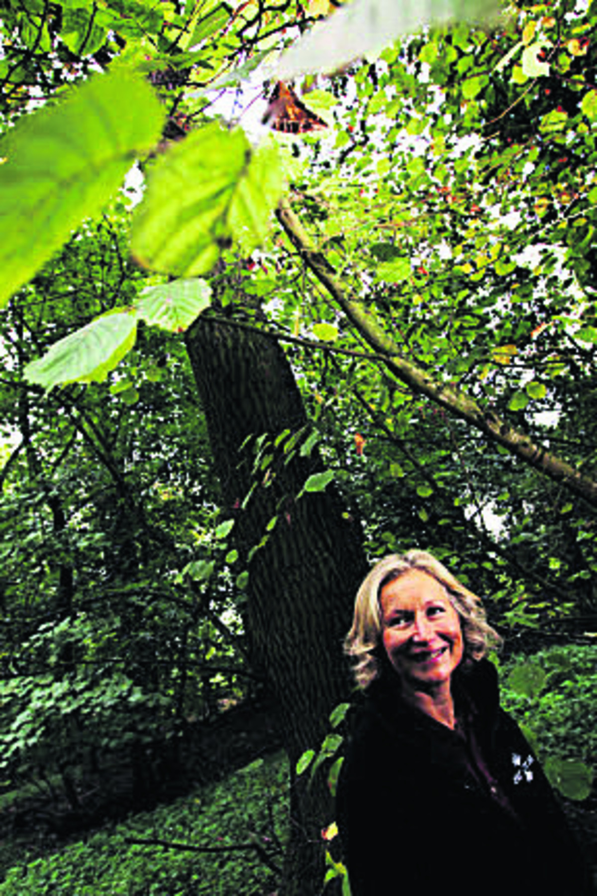 Earth Trust Chief Executive Jayne Manley