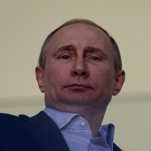 Witney Gazette: Vladimir Putin has told David Cameron Russia wants a peaceful conclusion to the Crimea crisis