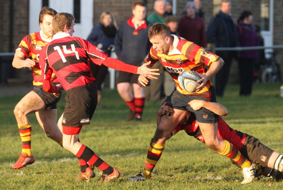 Dan Spencer scored a try and kicked a conversion during Bicester's 31-14 victory at Littlemore