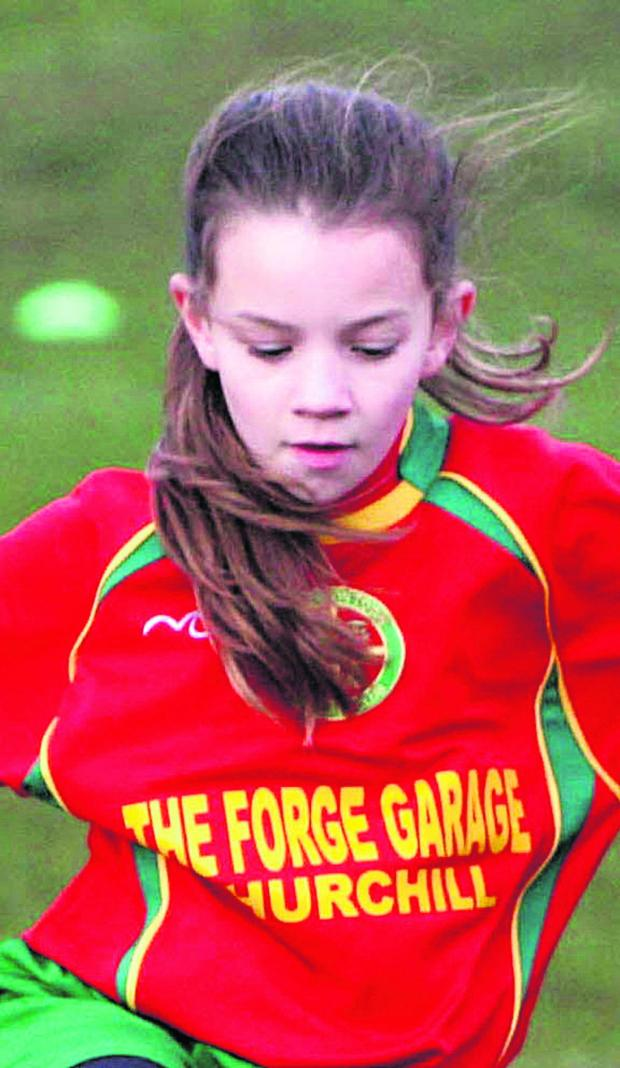 Witney Gazette: Ruby Colleton scored for Carterton in the 3-0 win against Kidlington