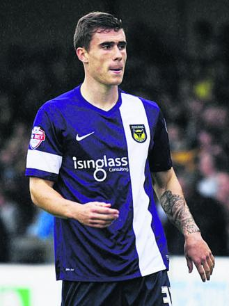 Josh Ruffels joined Oxford United last summer