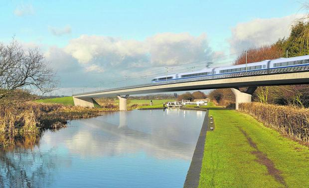 Witney Gazette: Three Oxfordshire MPs vote in favour of HS2