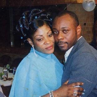 Jimmy Mubenga, pictured with his wife Adrienne Makenda Kambana, died while b