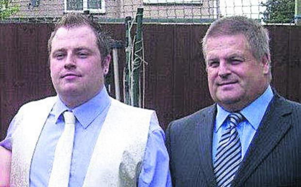 Witney Gazette: Michael Galloway (left) with his father Andrew