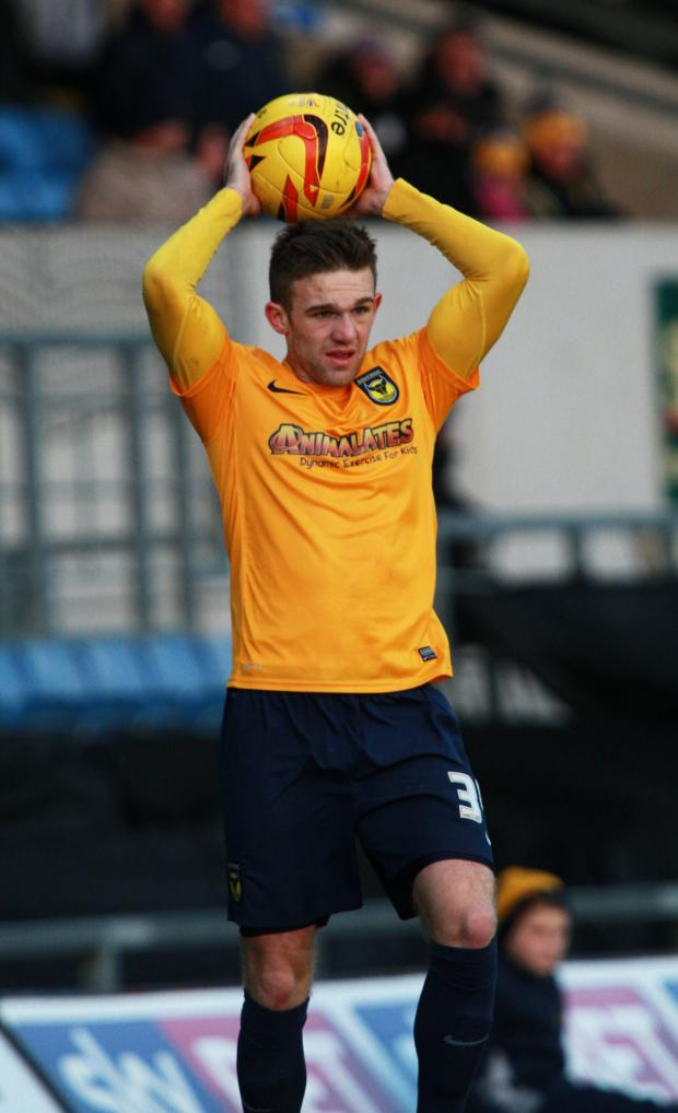 Witney Gazette: Matt Bevans could come back into the Oxford United line-up to face Hartlepool tonight