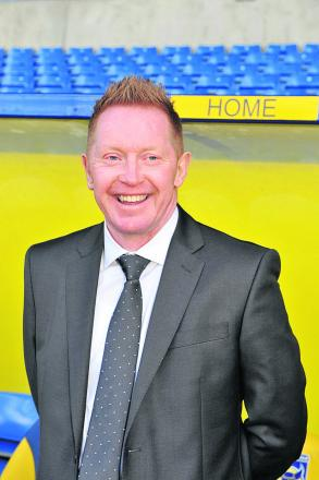 New boss Gary Waddock