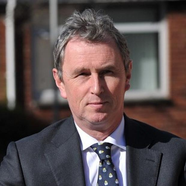 Witney Gazette: Former deputy speaker of the House of Commons Nigel Evans arrives at Preston Crown Court where he faces nine charges of sexual offences against seven men