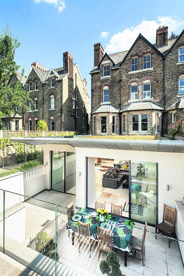 Witney Gazette: Riach Architects are nominated for a Victorian house extension