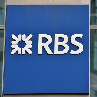 Royal Bank of Scotland has seen a 30% fall in branch transactions since 2010