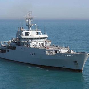HMS Echo is to start search efforts to help find the black box of missing Malaysia Airlines flight MH370 (Royal Navy/PA)