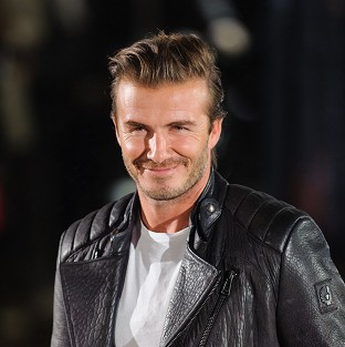 David Beckham has come under fire for promoting whisky