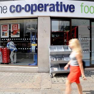 Lord Myners has quit the board of the Co-operative group.