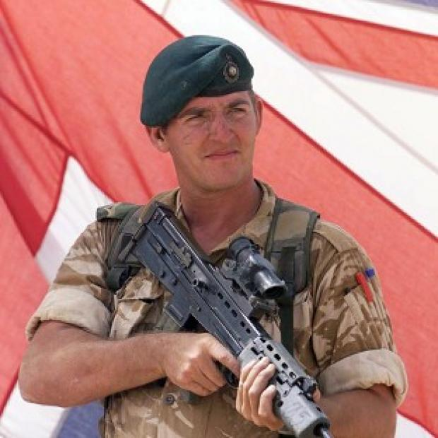 Witney Gazette: Royal Marine Sergeant Alexander Blackman is challenging his conviction
