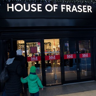 House of Fraser has sold a majority stake in its business to Chinese conglomerate Sanpower