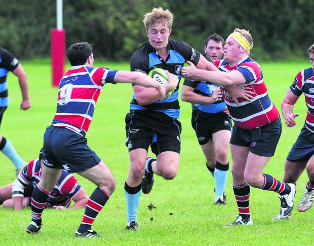 Witney Gazette: Witney lock David Hyde scored two tries in their narrow home victory against Buckingham in South West 1 East on Saturday
