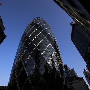 The Gherkin was designed by architect Lord Norman Foster