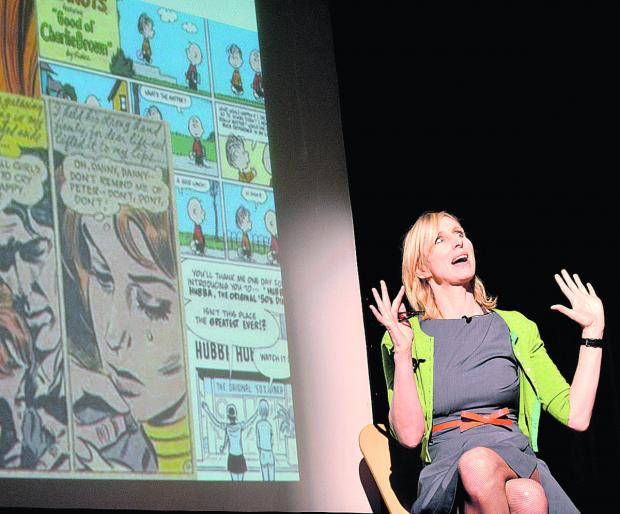 Witney Gazette: Author Lauren Child launched the Chipping Norton Literary Festival yesterday