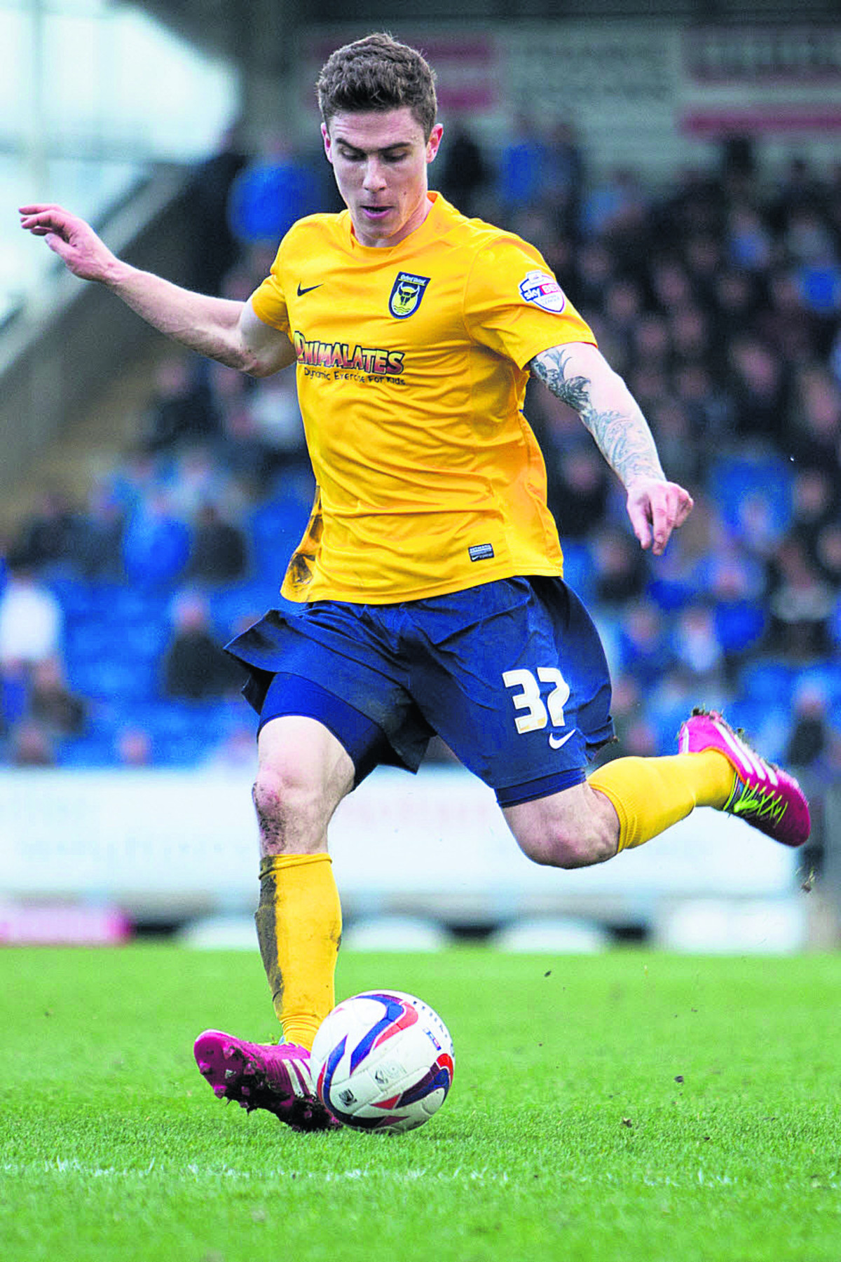 Josh Ruffels says Oxford United want to finish on a good note for the fans in the final home game of the regular season against Accrington