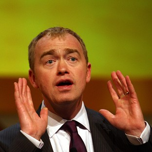 Tim Farron insisted a police investigation was the best way of dealing with sex abuse claims against Sir Cyril Smith