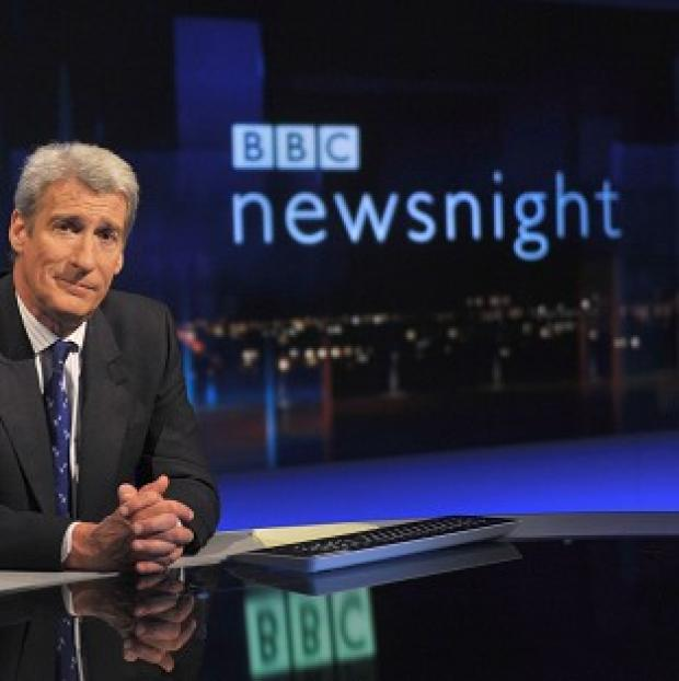 Witney Gazette: Jeremy Paxman has worked on Newsnight for 25 years