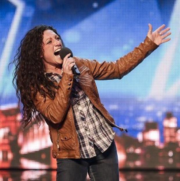 Witney Gazette: Eva Iglesias auditions for Britain's Got Talent