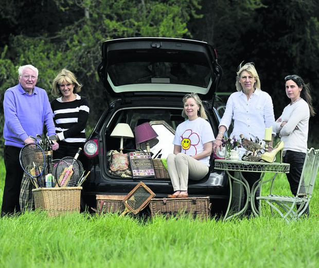 George Hedges, Chairman of ROSY, Juliet Jones, Ali Wills, P J Seccombe and Louise Nicholls