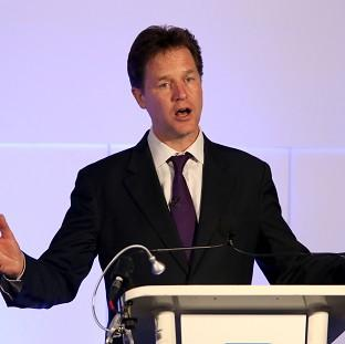 Witney Gazette: Deputy Prime Minister Nick Clegg refused to make any 'crystal ball-gazing predictions' ahead of Thursday's European Parliament election