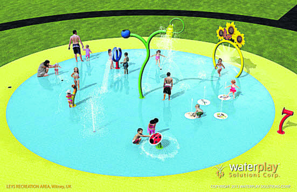 Designs for the splash pool