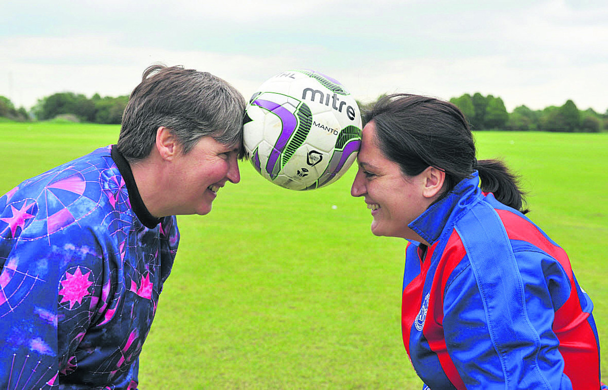 Women on the ball in a league of their own