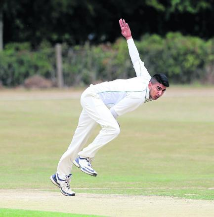 Oxford Downs opening bowler Amin Rafiq took 3-35 against Buckingham Town, only for his side to slip to an 11-run defeat in Saturday's Division 1 clash